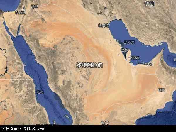沙特阿拉伯卫星地图 - 沙特阿拉伯高清卫星地图 - 沙特阿拉伯高清航拍地图 - 2016年沙特阿拉伯高清卫星地图