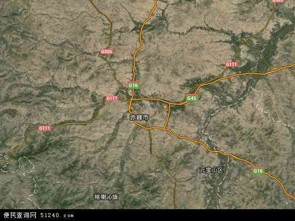 赤峰地图_松山区地图 - 松山区卫星地图 - 松山区高清航拍地图