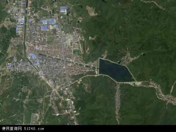 太华镇高清卫星航拍地图