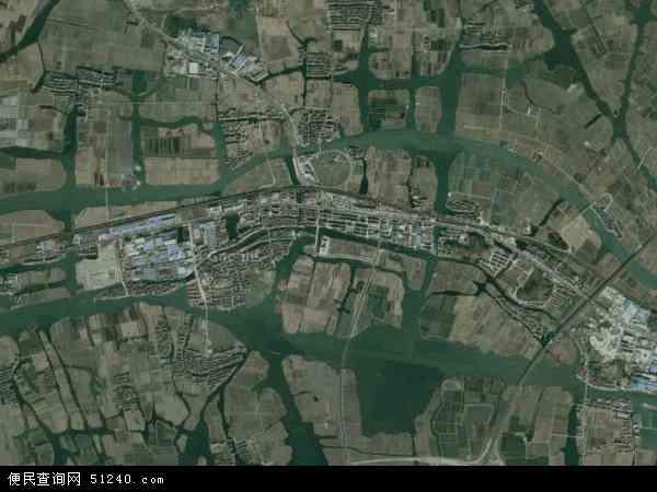 中国浙江省绍兴市绍兴县陶堰镇地图(卫星地图)