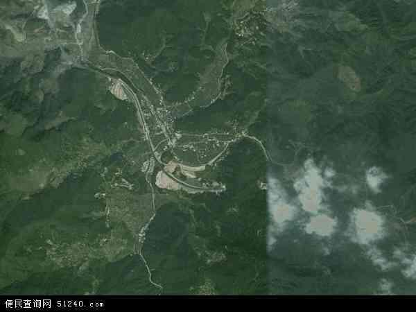 中国福建省南平市延平区塔前镇地图(卫星地图)