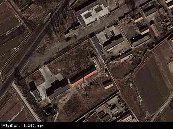 中国青海省海西蒙古族藏族自治州乌兰县铜普镇地图(卫星地图)