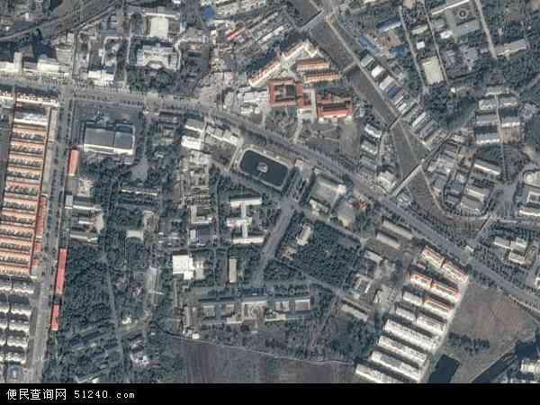中国辽宁省葫芦岛市兴城市温泉地图(卫星地图)