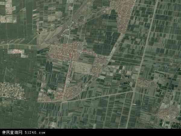 万滩镇地图 - 万滩镇卫星地图 - 万滩镇高清航拍