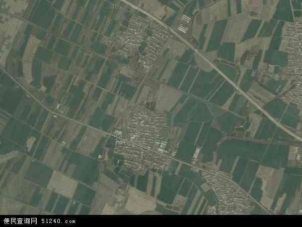中国辽宁省辽阳市灯塔市五星镇地图(卫星地图)