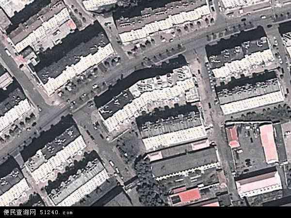 中国吉林省白山市浑江区新建地图(卫星地图)