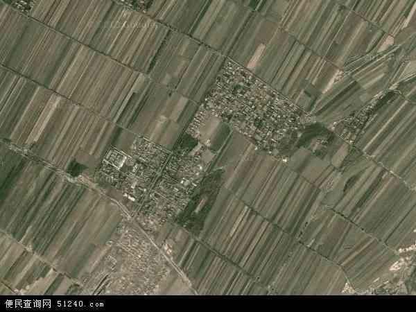 维吾尔自治区塔城地区沙湾县西戈壁镇地图(卫星地图)