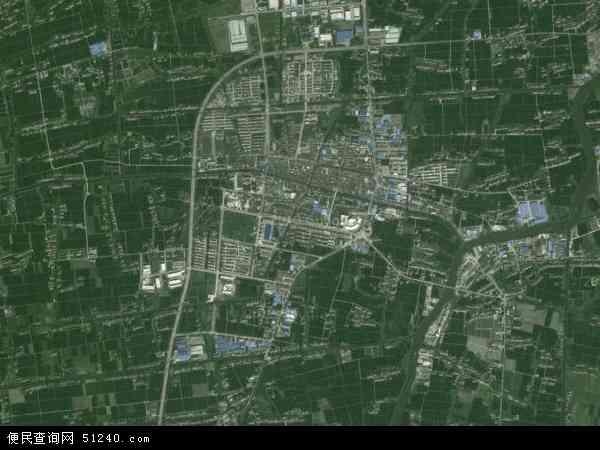 中国浙江省嘉兴市平湖市新埭镇地图(卫星地图)图片