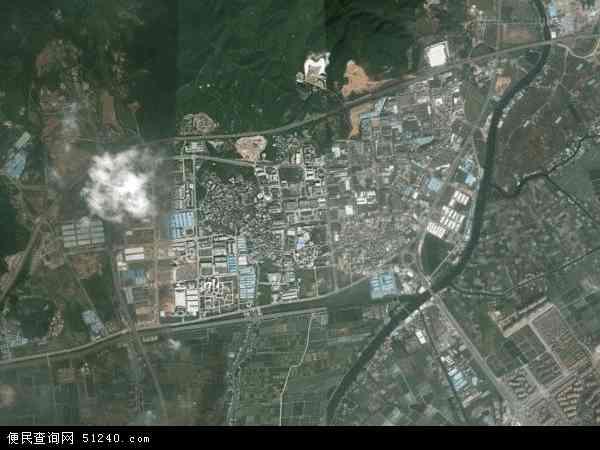 中国广东省中山市坦洲镇新前进地图(卫星地图)