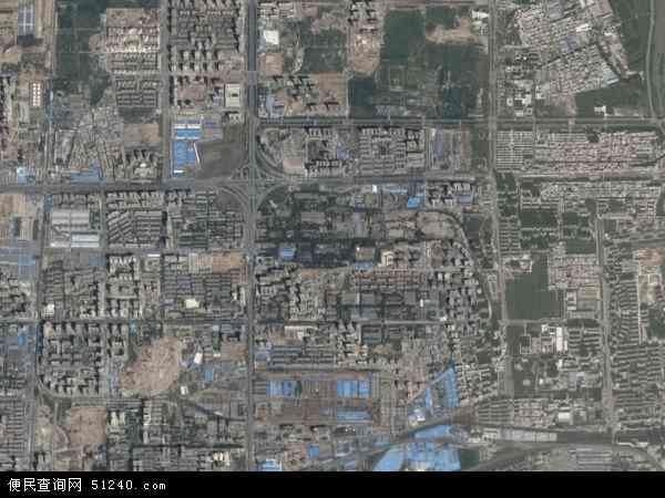 中国陕西省西安市未央区辛家庙地图(卫星地图)