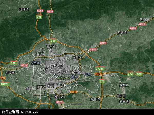 兴宁_兴宁区地图 - 兴宁区卫星地图 - 兴宁区高清航拍地图