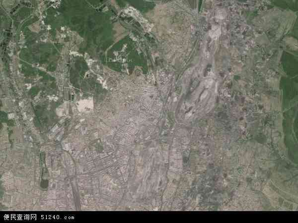 中国黑龙江省鹤岗市兴山区地图(卫星地图)