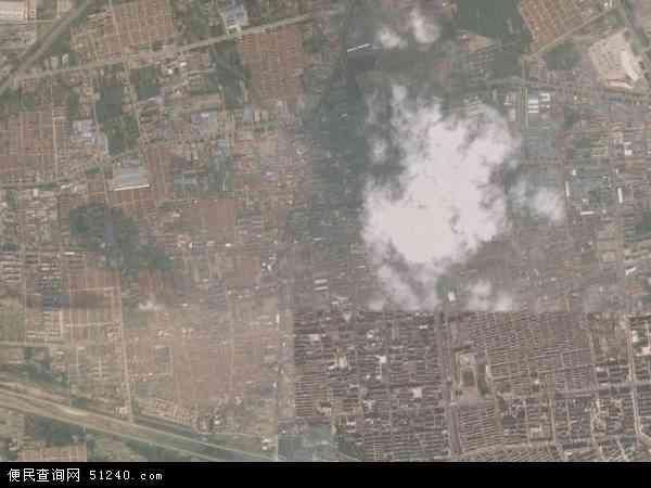 中国山东省青岛市黄岛区珠山地图(卫星地图)