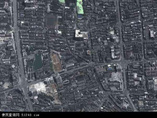 蒸湘高清卫星地图 蒸湘2017年卫星地图 中国湖南省衡阳市蒸湘区蒸