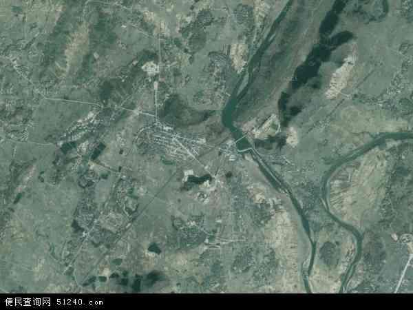 中国广东省阳江市阳春市陂面镇地图(卫星地图)