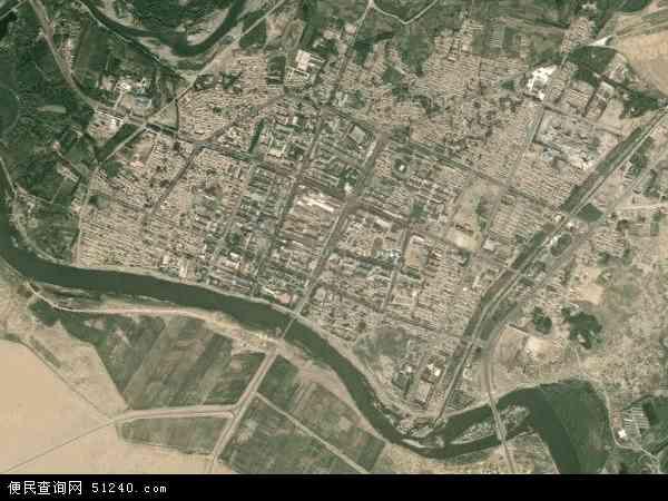 布尔津镇地图 - 布尔津镇卫星地图