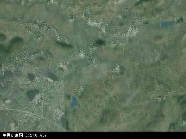 中国贵州省安顺市西秀区蔡官镇地图(卫星地图)