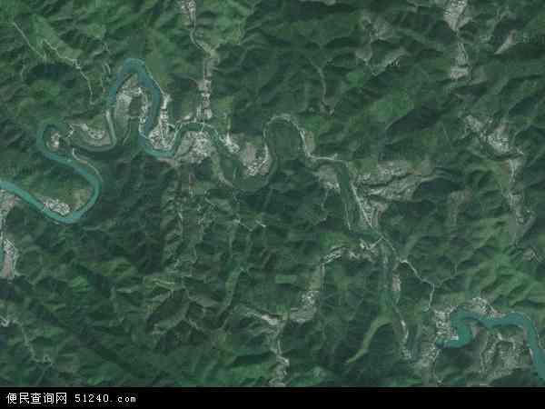 中国广东省肇庆市广宁县赤坑镇地图(卫星地图)