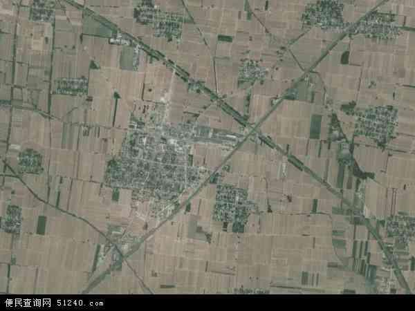 中国河南省焦作市沁阳市崇义镇地图(卫星地图)