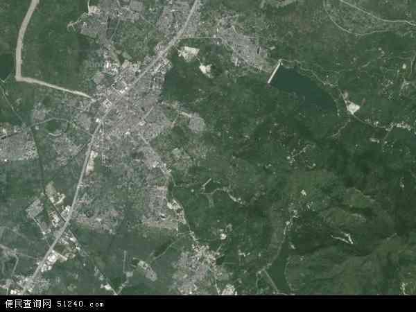 大坝镇地图 - 大坝镇卫星地图 - 大坝镇高清航拍