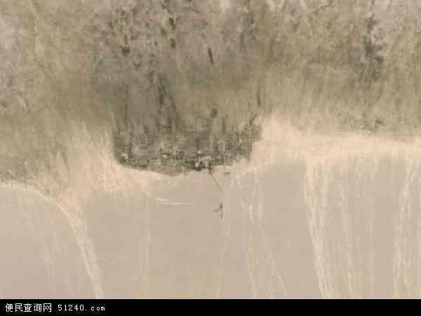 中国青海省海西蒙古族藏族自治州格尔木市大格勒乡地图(卫星地图)