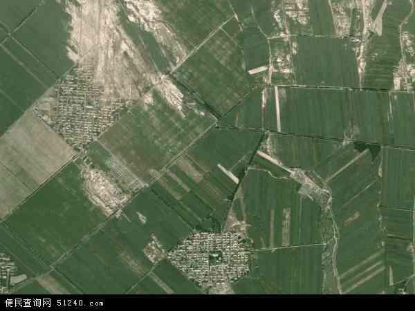 维吾尔自治区塔城地区沙湾县大泉乡地图(卫星地图)