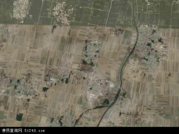 豆村乡地图 - 豆村乡卫星地图