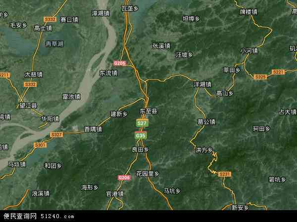 东至县地图 - 东至县卫星地图