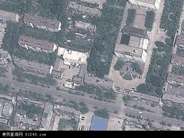 中国河南省商丘市梁园区东风地图(卫星地图)图片