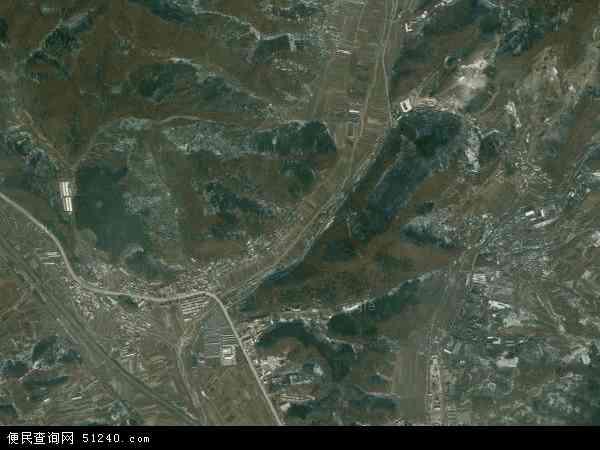 中国辽宁省本溪市明山区高台子地图(卫星地图)图片