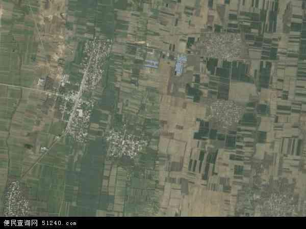 中国河南省开封市尉氏县岗李乡地图(卫星地图)