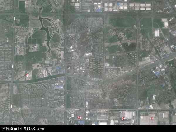 高行镇高清卫星地图