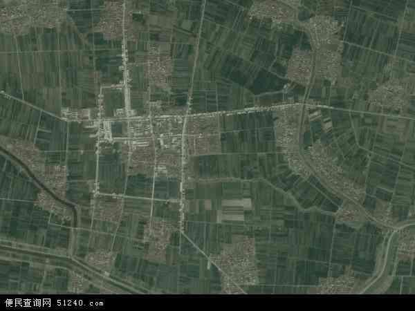 中国河南省周口市项城市官会镇地图(卫星地图)