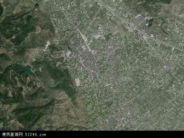 中国云南省玉溪市通海县河西镇地图(卫星地图)