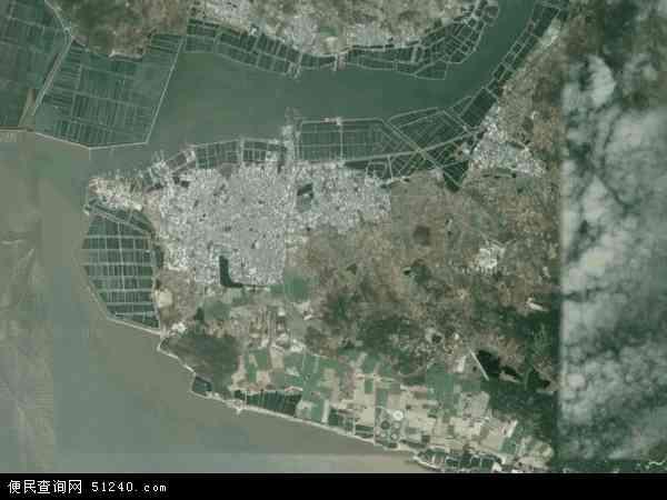 海山镇地图 - 海山镇卫星地图 - 海山镇高清航拍