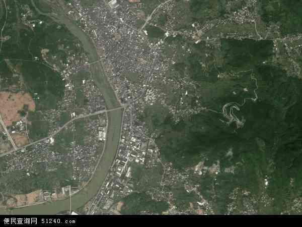 中国福建省泉州市南安市洪濑镇地图(卫星地图)