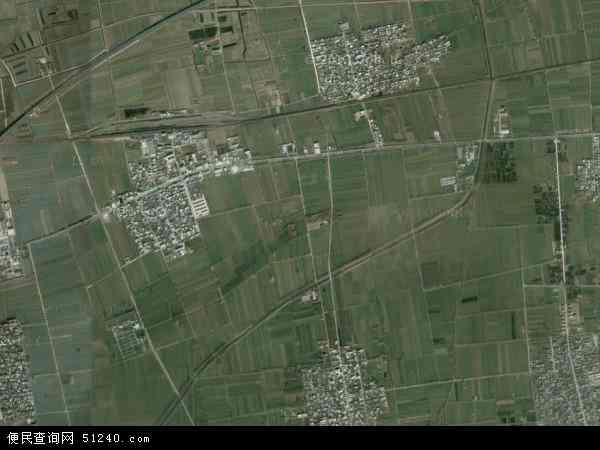 黄堤镇地图 - 黄堤镇卫星地图