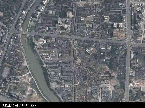 中国湖南省怀化市鹤城区红星地图(卫星地图)
