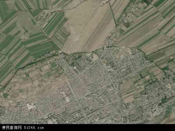 维吾尔自治区塔城地区额敏县郊区乡地图(卫星地图)