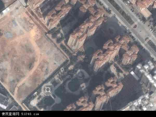 中国广东省中山市坦洲镇金斗社区地图(卫星地图)