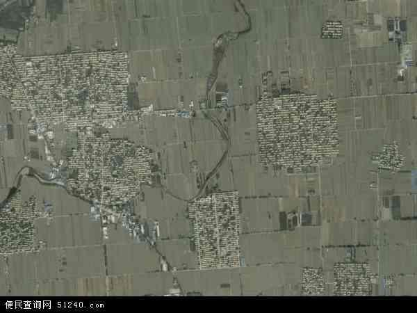 中国河北省石家庄市深泽县留村乡地图(卫星地图)