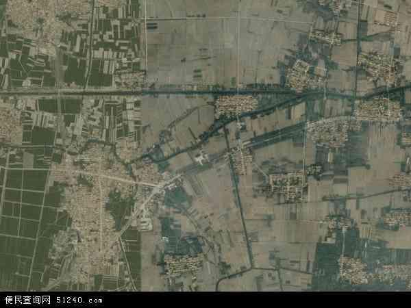 中国山东省滨州市阳信县流坡坞镇地图(卫星地图)