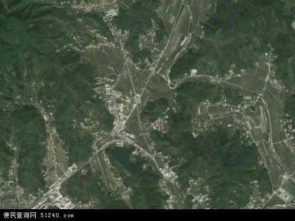 中国辽宁省丹东市振安区楼房镇地图(卫星地图)