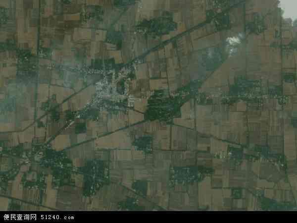 中国安徽省阜阳市颍州区马寨乡地图(卫星地图)