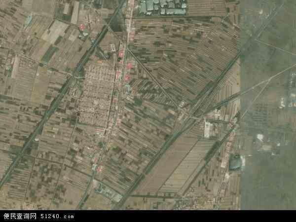 中国河北省沧州市青县马厂镇地图(卫星地图)
