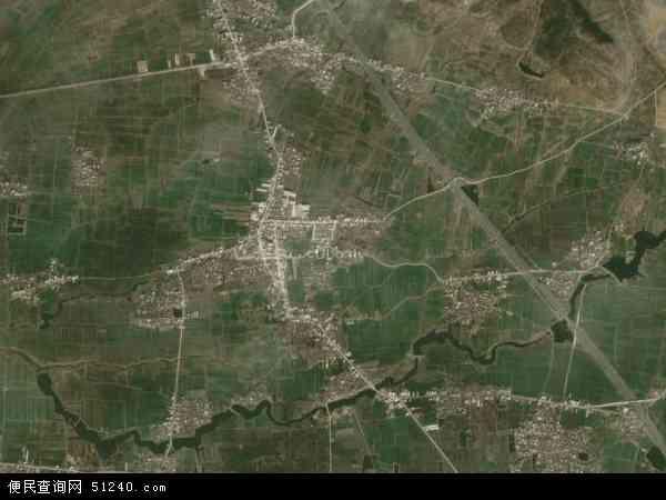 中国安徽省滁州市定远县能仁乡地图(卫星地图)