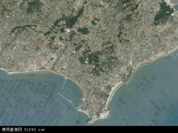 中国福建省莆田市秀屿区平海镇地图(卫星地图)