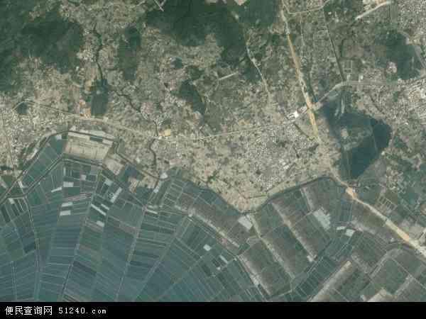 中国福建省漳州市东山县前楼镇地图(卫星地图)