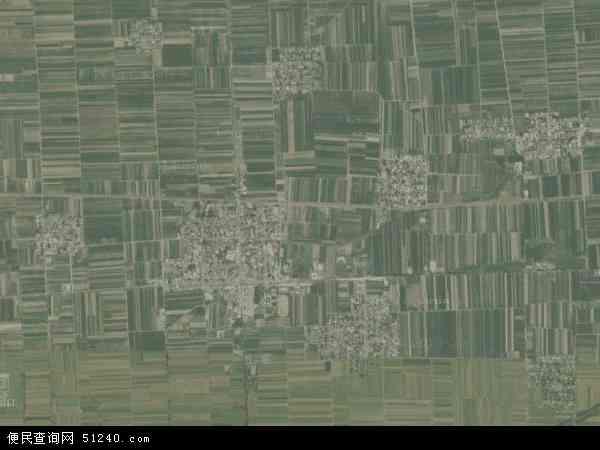 中国山西省运城市永济市卿头镇地图(卫星地图)