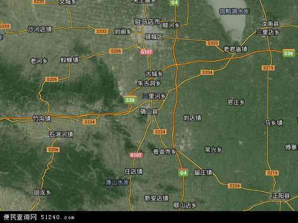 确山县地图 确山县卫星地图 确山县高清航拍地图 确山县高清卫星地图 图片